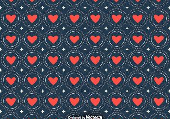 Vector Love Seamless Patterns - Kostenloses vector #391957
