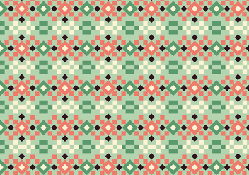 Square Pastel Pattern - Kostenloses vector #391987