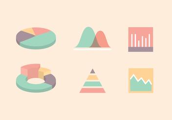 Icon Vector Charts - Kostenloses vector #392467