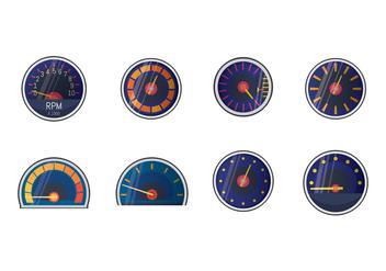 Free Tachometer Vector - vector #392527 gratis