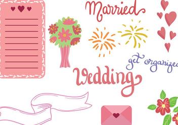 Free Wedding Vectors - Free vector #392647