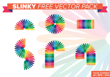 Slinky Free Vector Pack - Free vector #393377