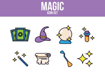Free Magic Icon Set - Free vector #393457