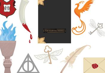Free Hogwarts 2 Vectors - Free vector #393477