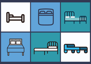 Mattress Vector Pack 3 - vector gratuit #393497