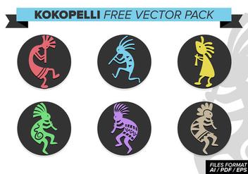 Kokopelli Free Vector Pack - Free vector #394337