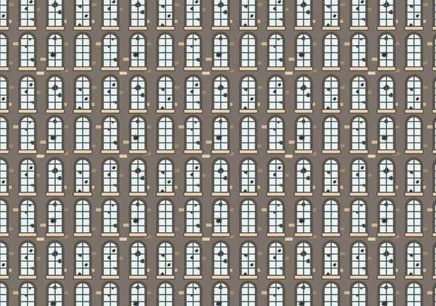 Broken Windows Pattern Vector - Free vector #394607