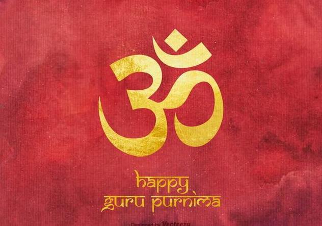 Free Happy Guru Purnima Vector Background - Free vector #394677