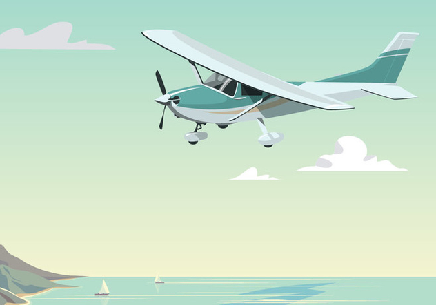 Cessna Fly At Daytime - vector #394957 gratis