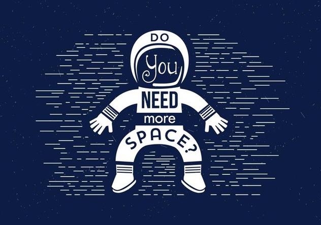 Free Vector Astronaut - Free vector #395057