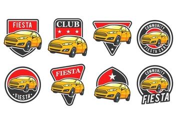 Free Car Vector Badge - Kostenloses vector #396047