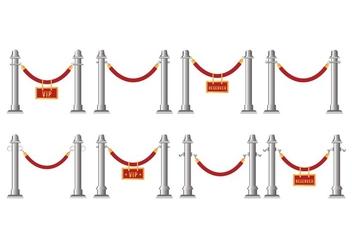 Free Velvet Rope Vector - vector #396077 gratis