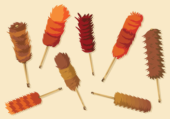 Free Feather Duster Vector - Kostenloses vector #396197