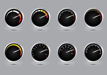 Tachometer Vector - Free vector #396437