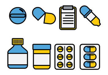 Prescription Pad Vector - vector #396447 gratis