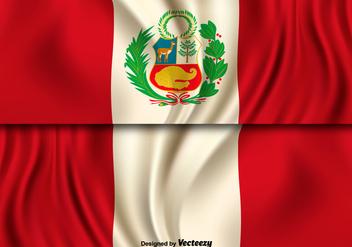 Vector Illustration Of Peru Flag - Kostenloses vector #397527