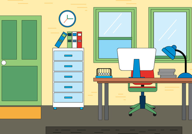 Free Office Vector Design - vector #398237 gratis