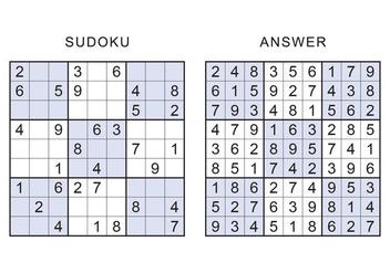 Sudoku Vector Games - Kostenloses vector #398387