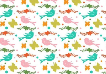 Free Vector Love Doodle Background - Free vector #398477