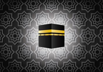 Dark Ka'bah in Mecca Vector - Free vector #398807
