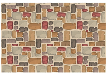 Stone Path Pattern Vector - бесплатный vector #399097