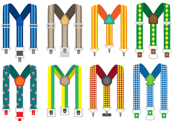 Suspender Icons - Free vector #399507