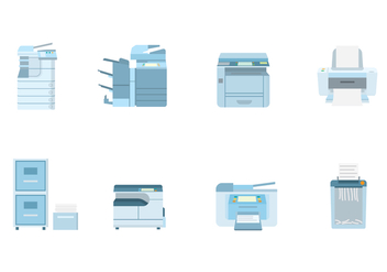 Free Office Document Equipment Vector - vector #399937 gratis