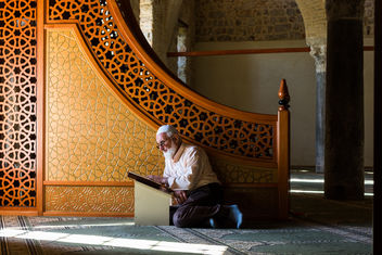 muslim pray at the mosque - Free image #400037