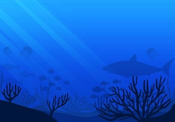 Free Sea life Seabed Vector - Free vector #400667
