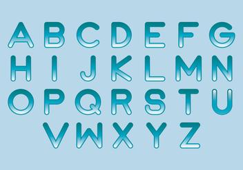 Liquid Vector Letters - Free vector #400817