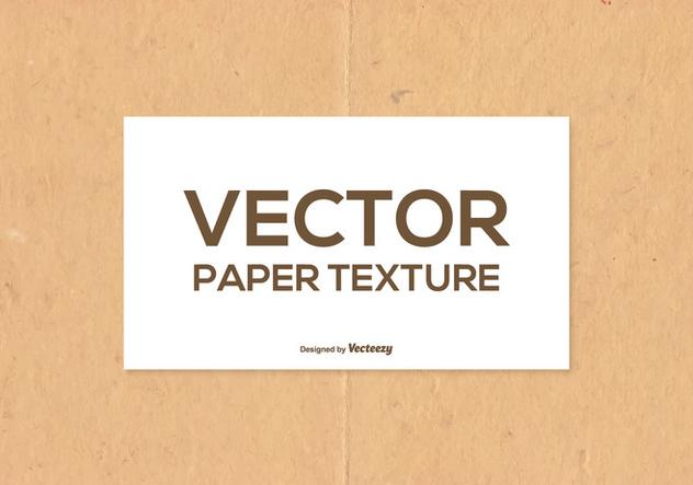 Vector Paper Texture - Free vector #400857