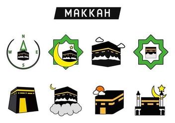 Free Holy Kaaba Makkah Vector - Kostenloses vector #400997