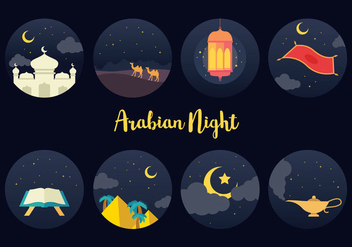 Free Arabian Night Vector - Free vector #401527