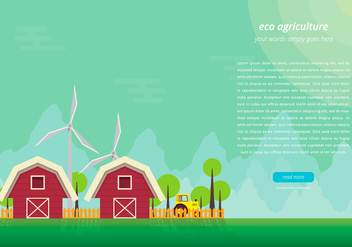 Agro Webpage Template - Free vector #401587