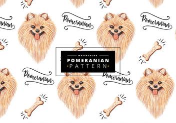 Free Pomeranian Pattern - vector #403597 gratis