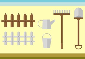 Free Gardening Tools Vector - Kostenloses vector #404147