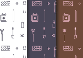 Free Cosmetics Pattern Vector - бесплатный vector #404277