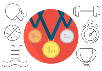 Free Sport Icons - Free vector #404577
