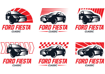 Ford Fiesta Classic Logo - Free vector #404717