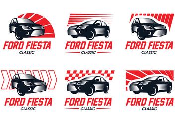 Ford Fiesta Classic Logo - бесплатный vector #404717