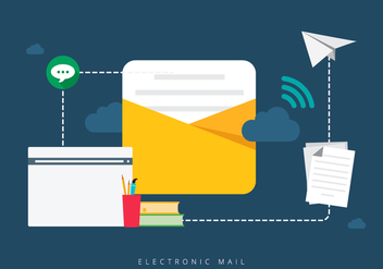 Combine Mobile Electronic Mail - Kostenloses vector #404767