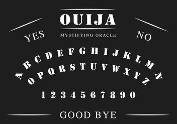 Ouija Board - Kostenloses vector #404817