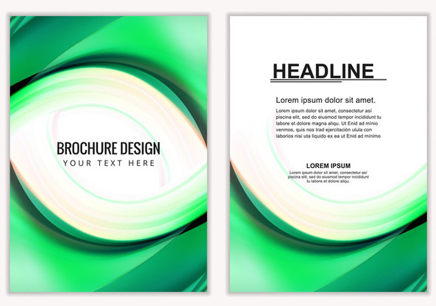 Free Vector Business Brochure - бесплатный vector #405167