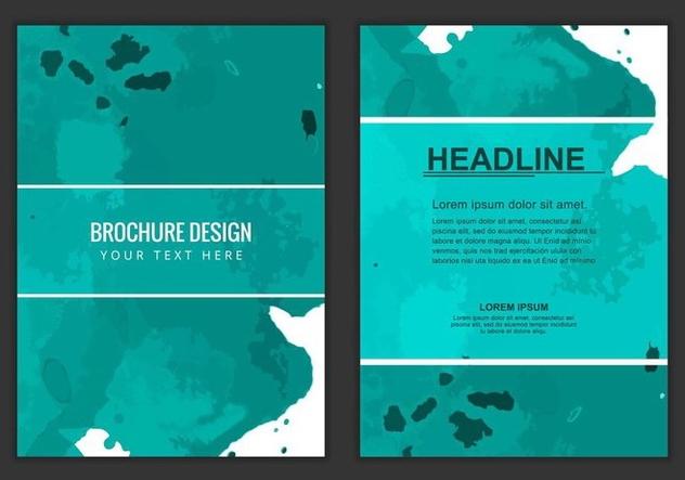 Free Vector Business Brochure - бесплатный vector #405207
