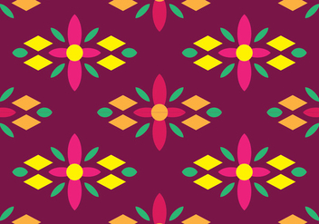 Traditional Songket - vector gratuit #405237