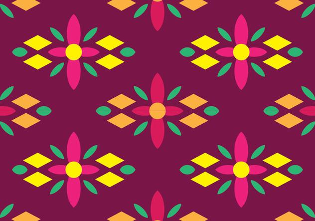 Traditional Songket - бесплатный vector #405237