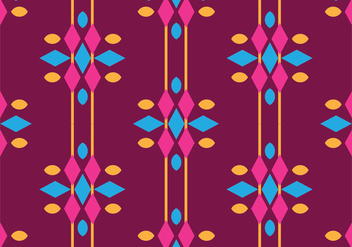 Traditional Songket - vector gratuit #405247