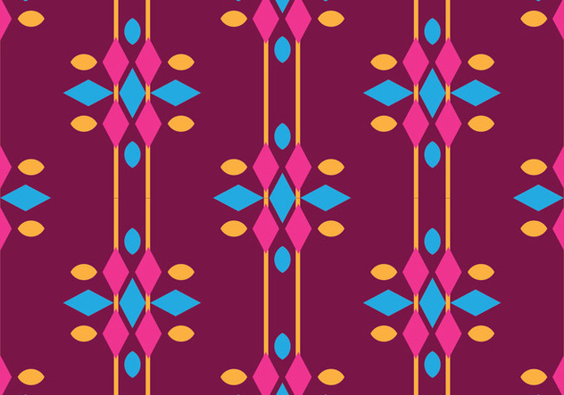Traditional Songket - бесплатный vector #405247
