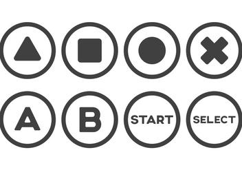 Free Arcade Button Vectors - Free vector #405467