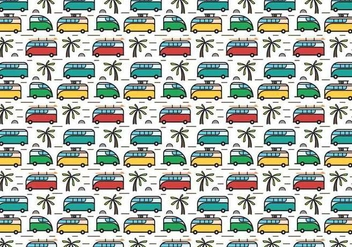 Free Hippie Bus Vector - бесплатный vector #405557